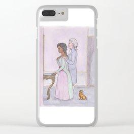 L'Amour Secret Clear iPhone Case