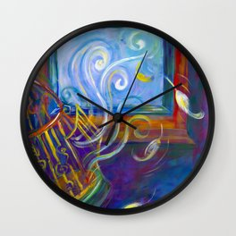 Freedom to Live Wall Clock