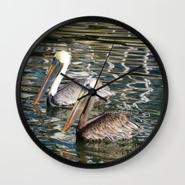 Florida wildlife Wall Clock