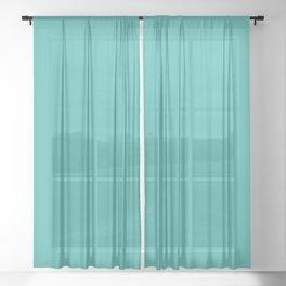 Verdigris Sheer Curtain