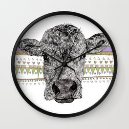 Alice the Cow Wall Clock