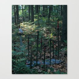 10 of Swords Canvas Print