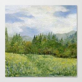 Underhill Fields Canvas Print