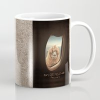 hand Mugs featuring QUÈ PASA? by Monika Strigel®