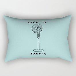 Life is Fantastic Rectangular Pillow