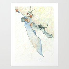 Elevation (Steep Incline) Art Print