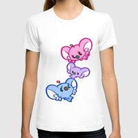 bisexual T-shirts featuring Secret Undercover Bisexual Koaloids by Arinko