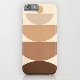 Abstraction_BOHO_SHAPE_POP_ART_Minimalism_0055B iPhone Case