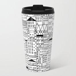 cityscape Travel Mug