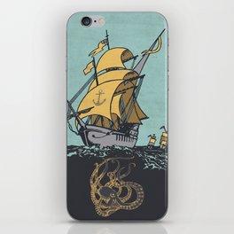 The Secrets of the Sea iPhone Skin