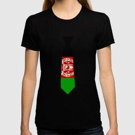 Afghanistan Patriotic Tie T Shirt T-shirt