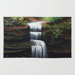 Just A Little Waterfall Rug