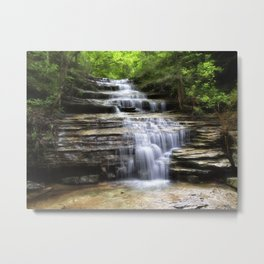 Lyle Falls - Arkansas Metal Print