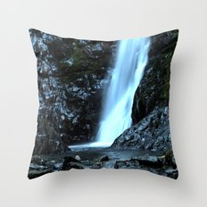 Those Secret Places in Nature Throw Pillow