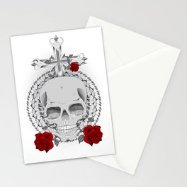 True, Death and Love Stationery Cards