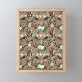 Bohemian Spirit Framed Mini Art Print