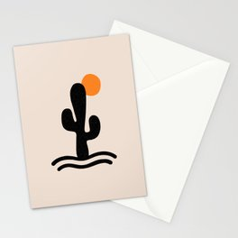 cactus sunrise Stationery Cards