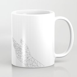 Michelangelo Reloaded (in white) Coffee Mug