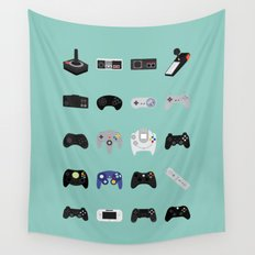Console Evolution Wall Tapestry