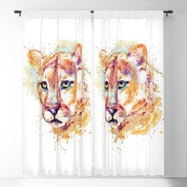 Cougar Head Blackout Curtain