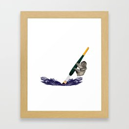 Slovenly... Framed Art Print