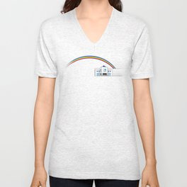 The Goodbye Rainbow Unisex V-Neck