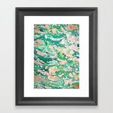 Moss Agate  Framed Art Print