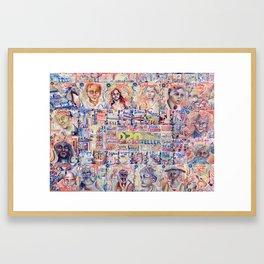 The D20 Storyteller Framed Art Print