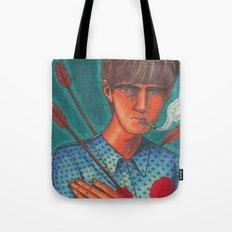 Seymour, the Human Target Tote Bag