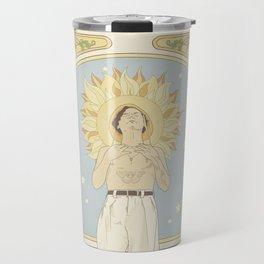 (You're so) Golden Art Noueau Travel Mug