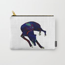 Watercolor Greyhound Carry-All Pouch