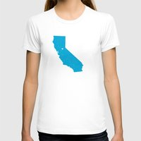 california T-shirts featuring California by Hunter Ellenbarger