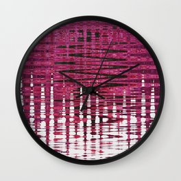 The colour pink makes everything look pretty Wall Clock