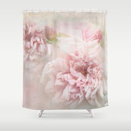 ... Softly Roses Shower Curtain ...