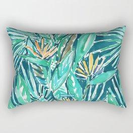 TROPICAL BIRDS OF PARADISE Rectangular Pillow