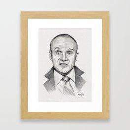 Top Quabbity Portrait Framed Art Print