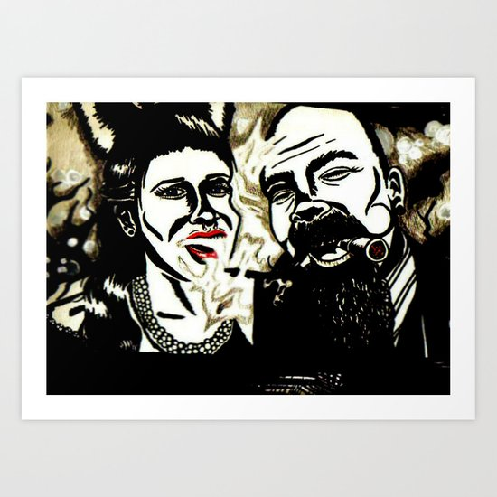 Mad Love Art Print