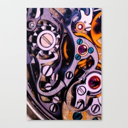 Time Machine In Color Canvas Print