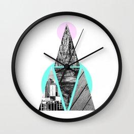 Pyramide Wall Clock