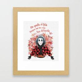 Abrigadito Framed Art Print