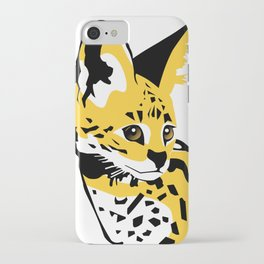 Serval 01 iPhone Case