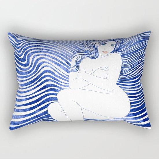 Water Nymph XLII Rectangular Pillow
