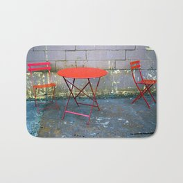 Laptop Table & Chairs Bath Mat