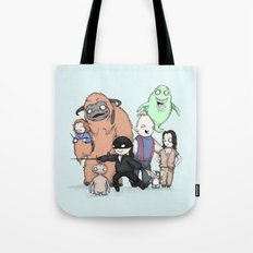Retro Childhood Tote Bag