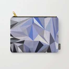 abstract pattern geometric triangle mosaic background low poly style Carry-All Pouch