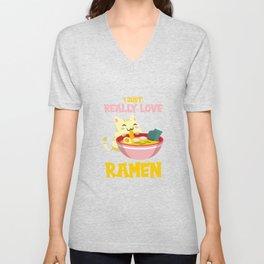 I Just Really Love Ramen Unisex V-Neck