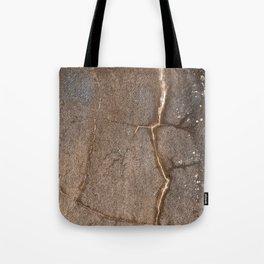 Lightning Grunge Cracks Tote Bag