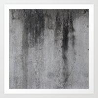 concrete Art Prints featuring Concrete by Shamgar