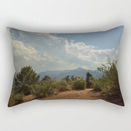 Red Rocks Rectangular Pillow