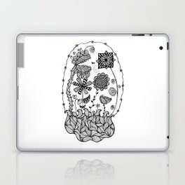 Trapped in my Garden Laptop & iPad Skin